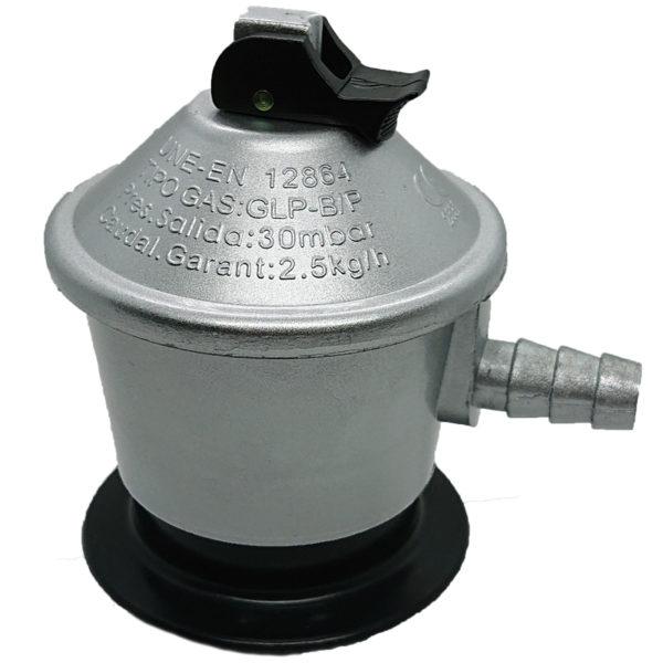 Regulador bombona 28 Gr Gas Butano/propano